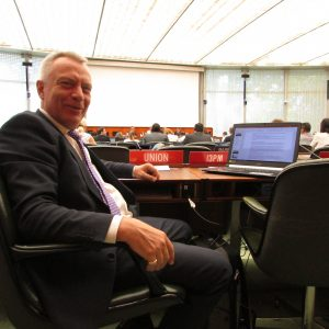 Paul Rosenich represents UNION-IP and I3PM at the WIPO-PCT-Working Group for the development of the PCT in Geneva